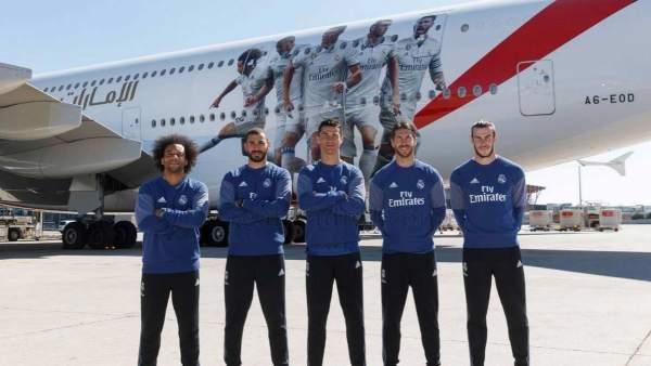 Avión del Real Madrid