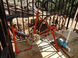 Mini bici bomba de agua