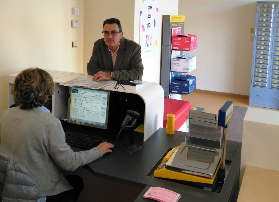 Correos abre una oficina en huesca para dar servicio a las for Oficinas de correos zaragoza