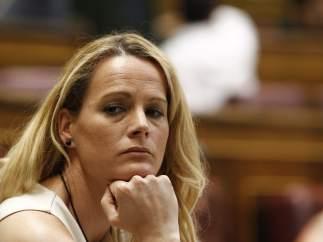 """Zaida Cantera, al PP: """"Que dejen de hacer el sinvergüenza, de robar y de levantar el brazo Cara al Sol"""""""