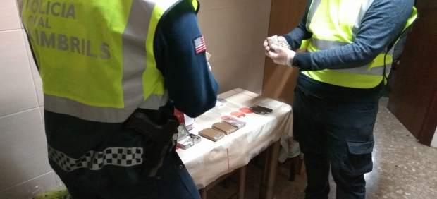 Operación contra una banda de traficantes de droga en Cambrils