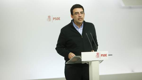 La recogida de avales del PSOE, tras Semana Santa