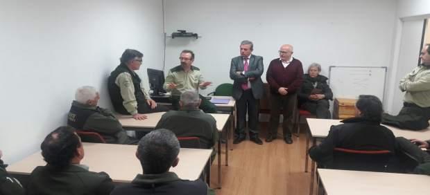 Presentación del nuevo coordinador provincial de agentes forestales.
