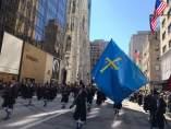 Banda Llacín, en el Desfile de San Patricio, en Nueva York.