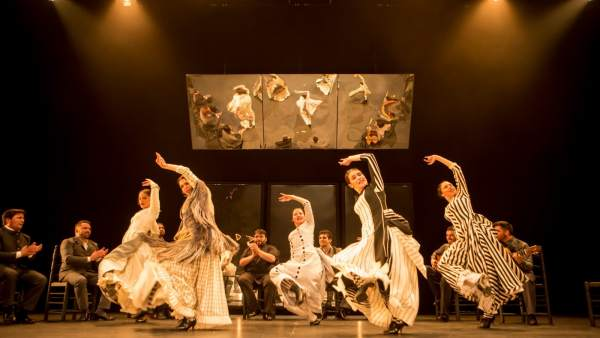 Escena del espectáculo '...Aquel Silverio'