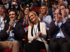 """Cifuentes apoya a Casado como aspirante a alcalde de Madrid: """"Es un buen candidato"""""""
