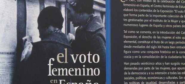 Muestra 'El voto femenino en España'