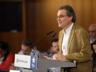 """Artur Mas llama a ignorar a Rajoy: """"Hemos dejado de ser súbditos de España"""""""