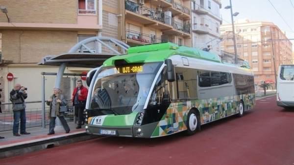 Tranvía de Castellón en una imagen de archivo