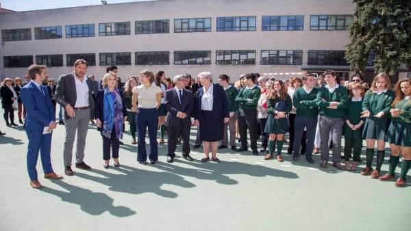 Valladolid.- García Tejerina, junto al resto de autoridades