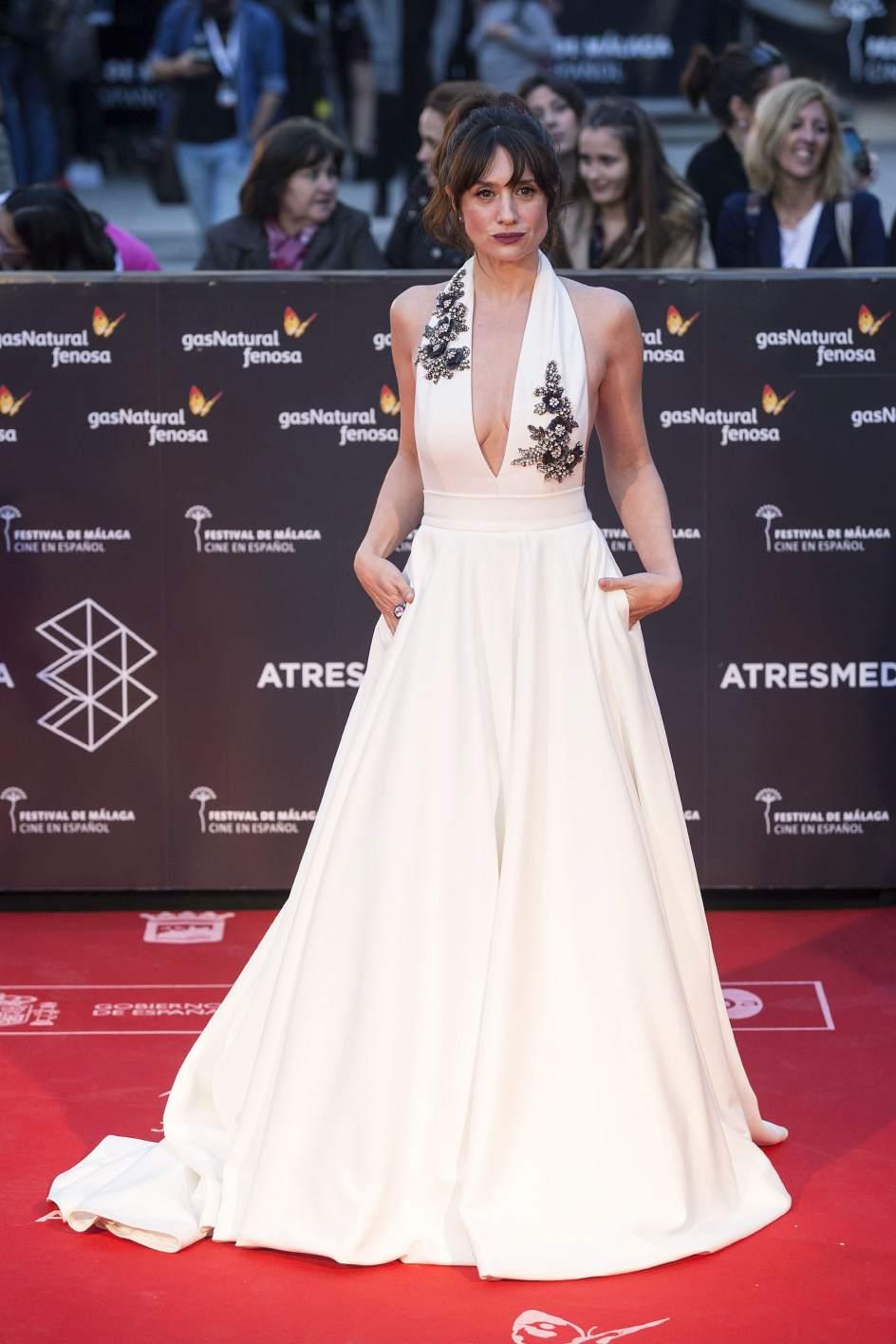María Botto. La actriz María Botto posa a su llegada a la gala inaugural de la vigésima edición del Festival de Málaga.