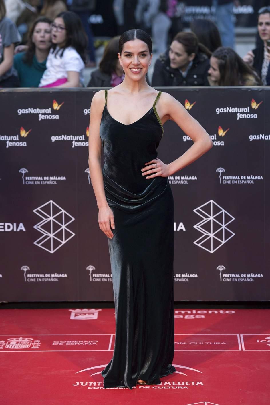 Roko. La cantante Roko posa a su llegada a la gala inaugural de la vigésima edición del Festival de Málaga.
