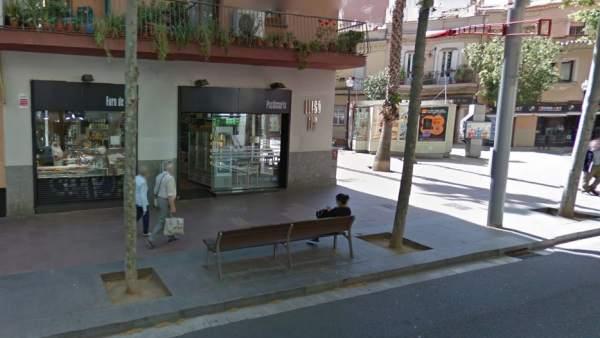 Panadería atracada en Barcelona