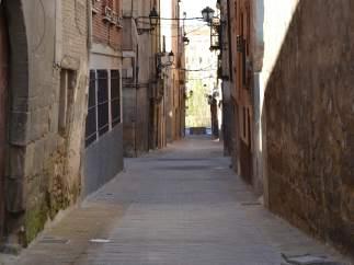 Concluye la actuación en la calle La Cueva de Alcañiz