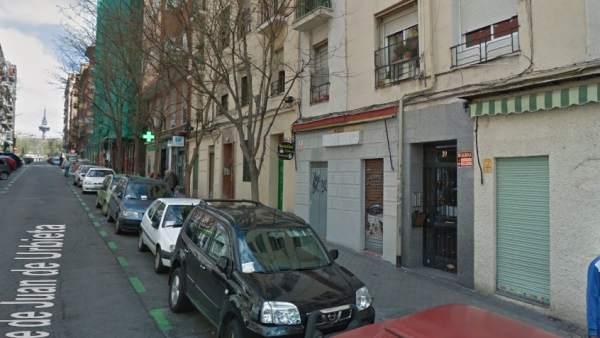 Suceso en Madrid