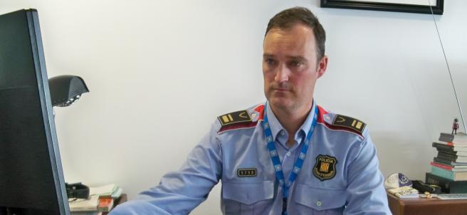 El intendente de Mossos d'Esquadra Eduard Sallent