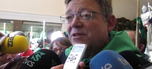 El 'president' ha visitado la Romeria de les Canyes