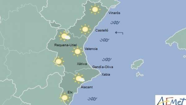 En ninguna provincia se esperan precipitaciones para este domingo
