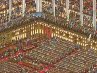 En el parlamento