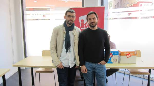 Àlvaro Sanz y Jorge Sanz, de IU Aragón