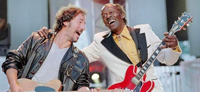 Bruce Springsteen  y Chuck Berry