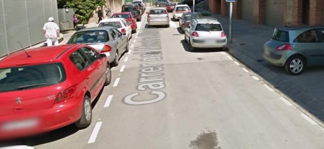 Calle Maestro Albagés (Manresa)