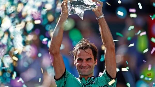 Roger Federer gana Indian Wells
