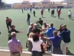 Batalla campal en un campo mallorquín