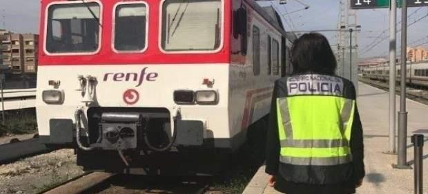 Detingut a Múrcia un grafiter que va causar danys en trens de rodalies d'Alacant per 18.000 euros