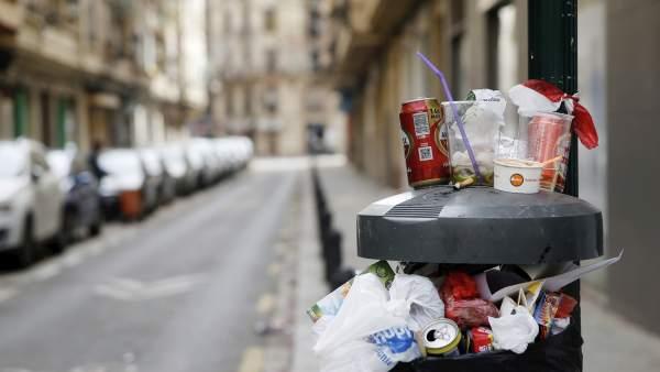 La neteja segueix sent l'assumpte amb més queixes i reclamacions a València