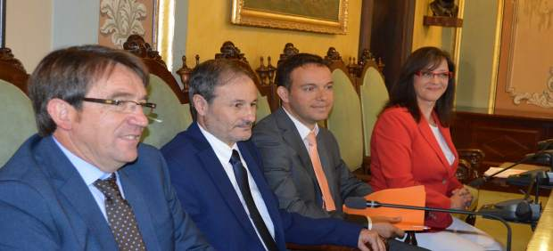 María Córdoba, Daniel Rubio, José Luis Osorio y Àgeles Ribes, concejales de Cs