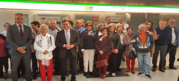 Jornadas para mayores sobre el metro