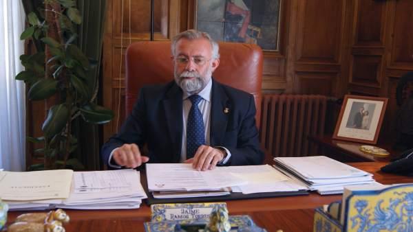 Jaime Ramos, alcalde de Talavera de la Reina
