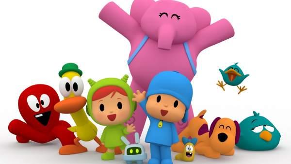 Los personajes de Pocoyó