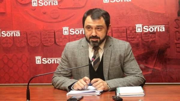El concejal de Urbanismo de Soria Javier Muñoz