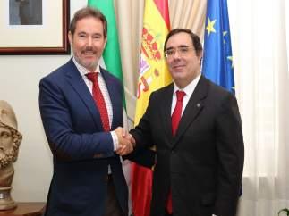 José Manuel Gamero y Vicente Guzmán
