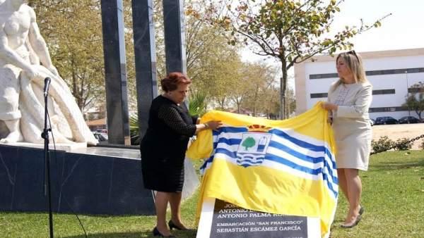 La alcaldesa de Isla Cristina, Antonia Grao.