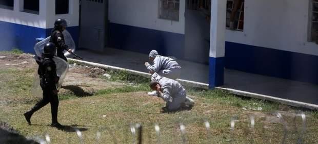 Motín en un correccional de Guatemala