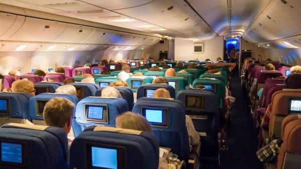 Cabina de un avión
