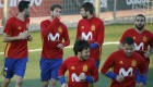 Ramos y Piqué se reencuentran en 'la Roja'