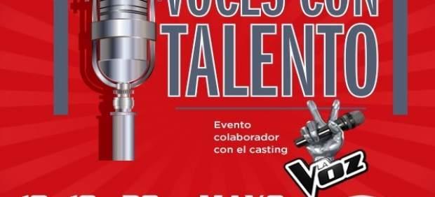 Cartel anunciador del casting en Vallsur.