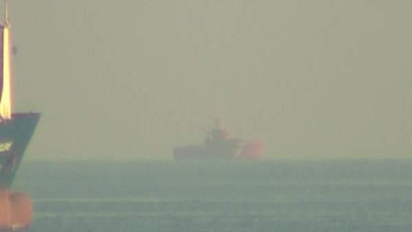 Salvamento marítimo busca a los desaparecidos tras el accidente del puerto