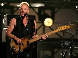 El músico británico Sting.