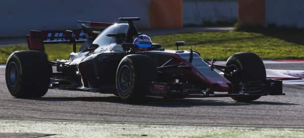 El monoplaza Haas F1