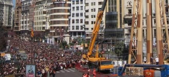 Imagen de la Falla municipal de 2017 en València