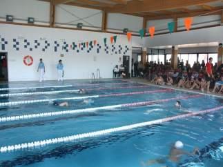 Encuentro de natación.