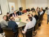 Reunión del alcalde con la Plataforma 'Pacto por el Mar Menor'