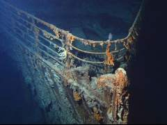 Ofrecen un tour por los restos del 'Titanic'