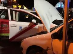 Muere un hombre al chocar su taxi con otro vehículo en Getafe