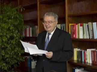 Juan José González Rivas, nuevo presidente del Constitucional.